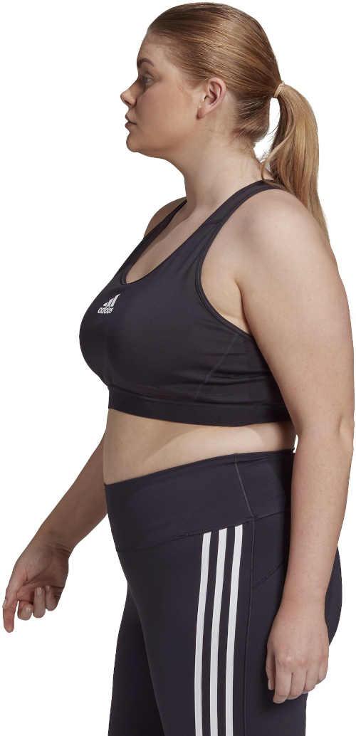 Sport fekete melltartó Adidas