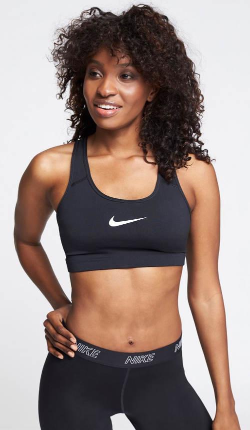 Fekete sportmelltartó Nike
