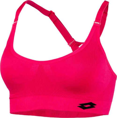 Női rózsaszín sportmelltartó