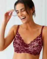 Modern női melltartó zsugorodó hatással